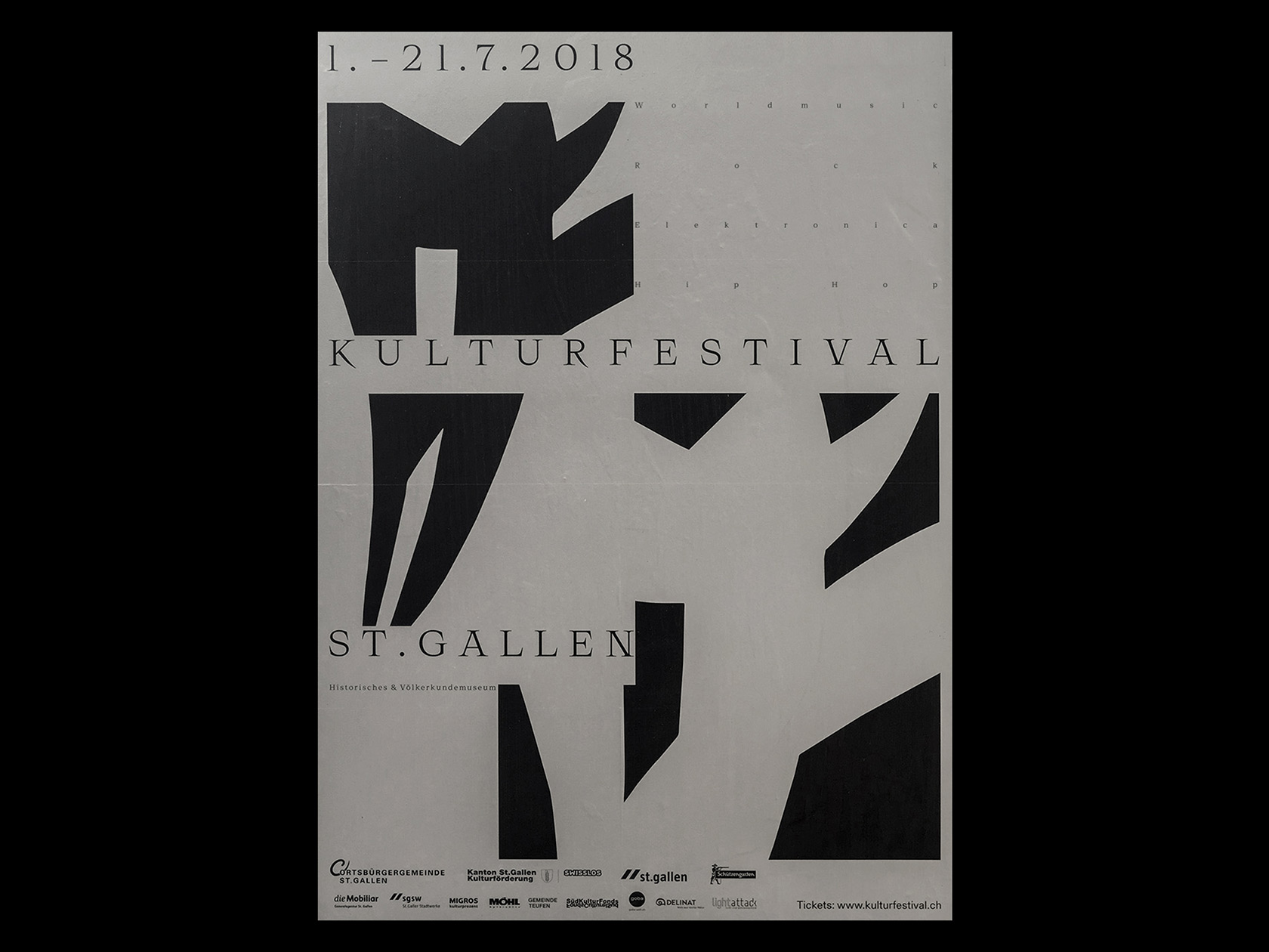 collide24 1 kulturfestival st gallen - combining graphic design with musical and cultural roots