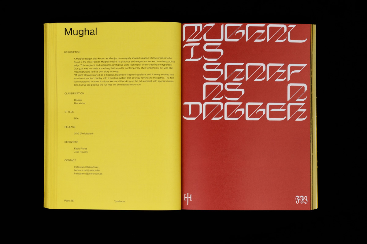 08 collide24 Jose Houdini  Fabio Florez - 'Mughal' typeface turned from a game into an on-going collaboration