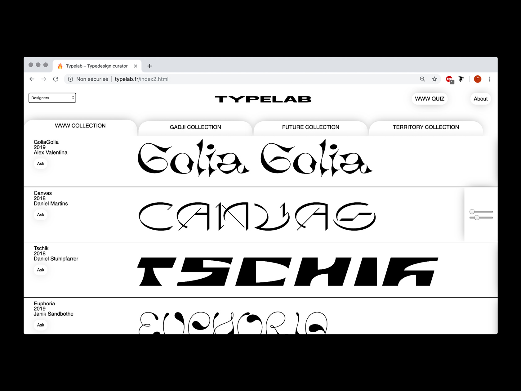 00 collide24 typelab fr - Finding the best balance between experimentation and legibility