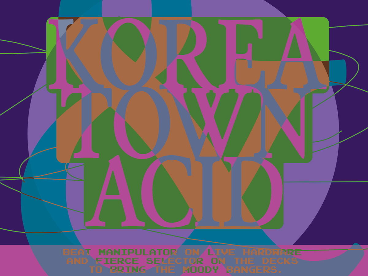 01 collide24 koreatownacid  - The nostalgic and hypnotic sound world of Korea Town Acid