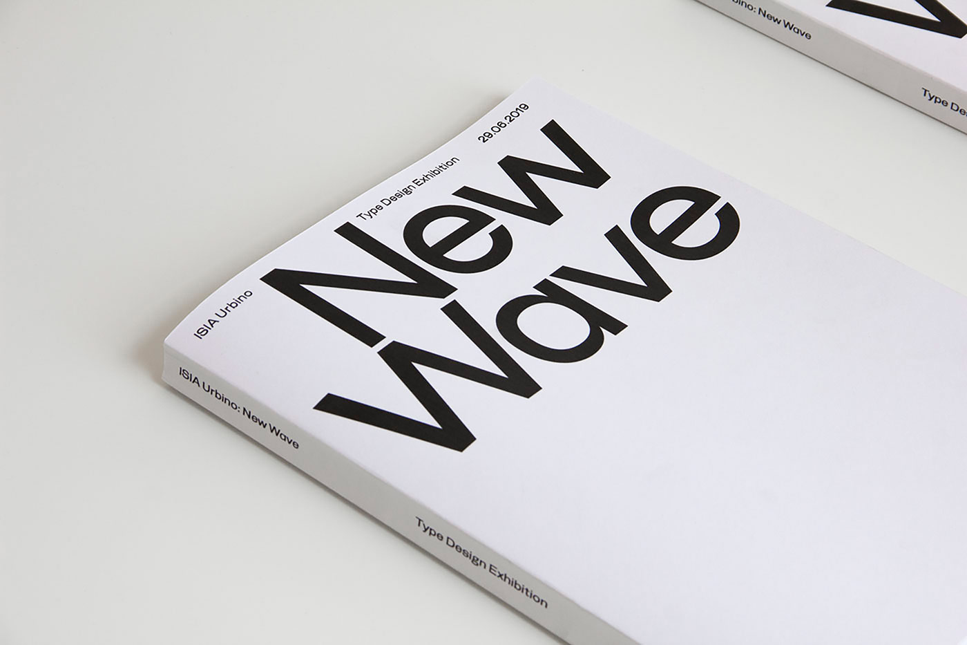 "08 collide24 New Wave - The Exhibition ""New Wave"" showcases eleven contemporary typefaces by fourteen talented designers"