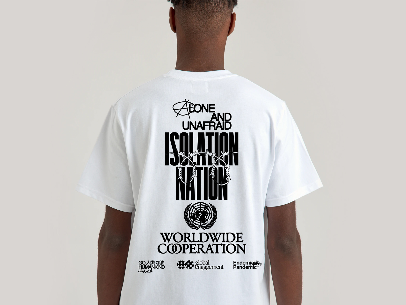 Pedro Ajo and Christopher Noort on the Isolation Nation Shirt and their collaborative practice