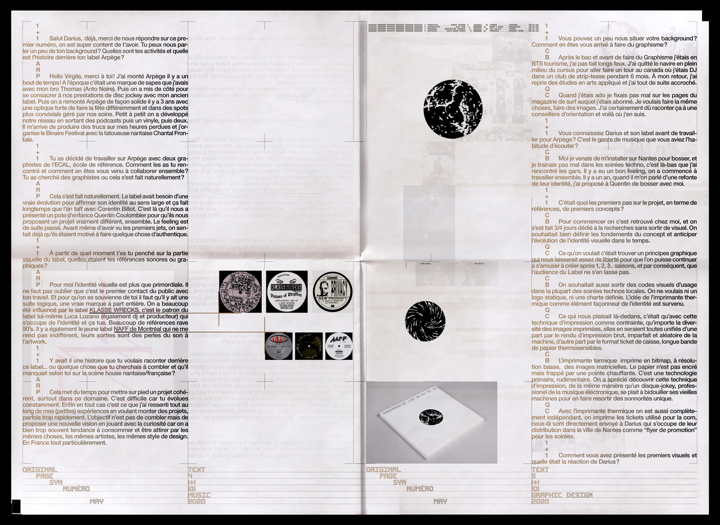 05 collide24 Virgile Flores Syn1plus1 - Virgile Flores on the first issue of Syn1+1, a journal about musical and visual collaborations