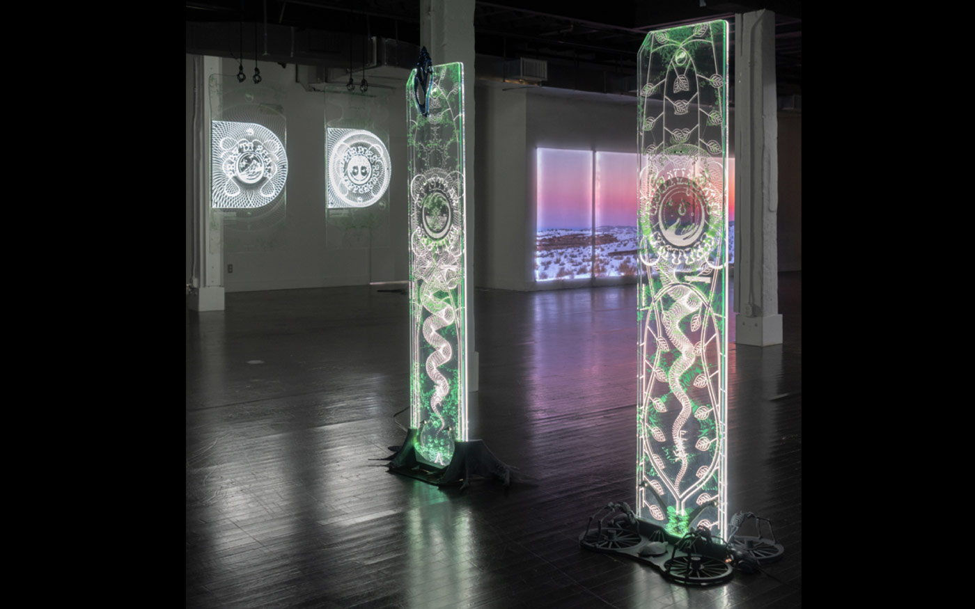 """06 collide24 Panama Papers Office Timur Si Qin - Panama Papers Office on their collaboration with artist Timur Si-Qin for his Solo-Show """"Take Me, I Love You"""" and the meaning of spirituality for the 21st century"""