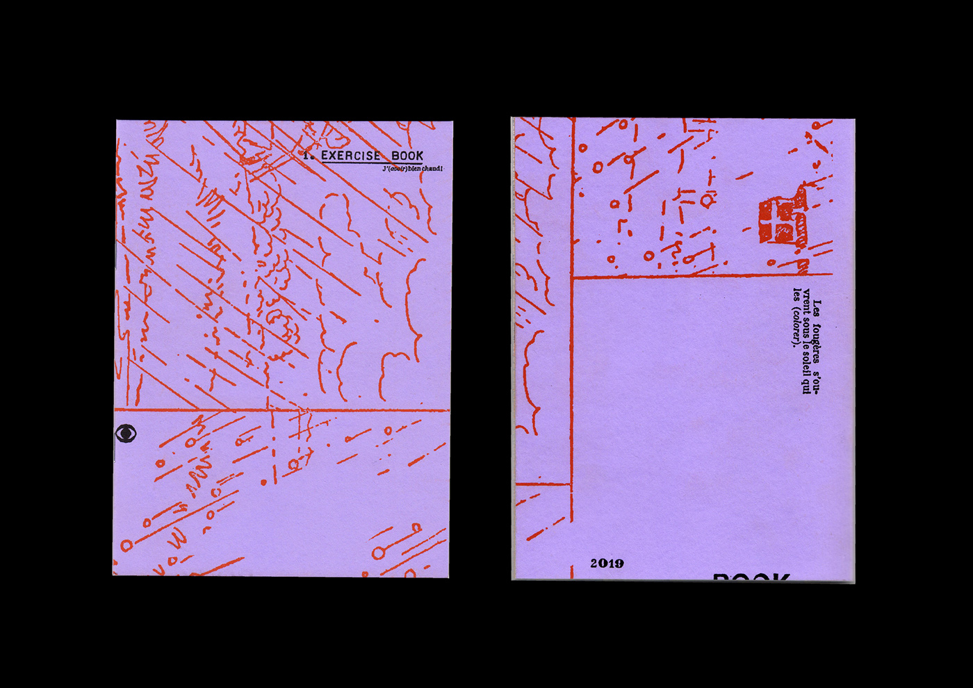 01 collide24 Riso Sur Mer - Riso sur Mer is a experimental riso-printing collective, collaborating across continents