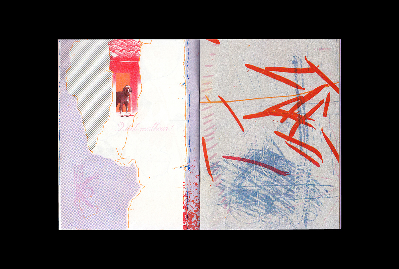 10 collide24 Riso Sur Mer - Riso sur Mer is a experimental riso-printing collective, collaborating across continents