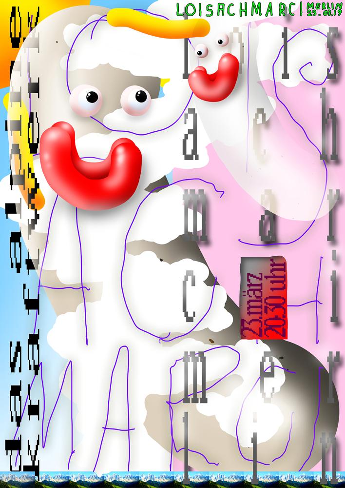 13 collide24 Mark Bohle Raffael Kormann - Mark Bohle and Raffael Kormann turn their 80-piece collection of posters for Kulturzentrum Merlin into a playful publication