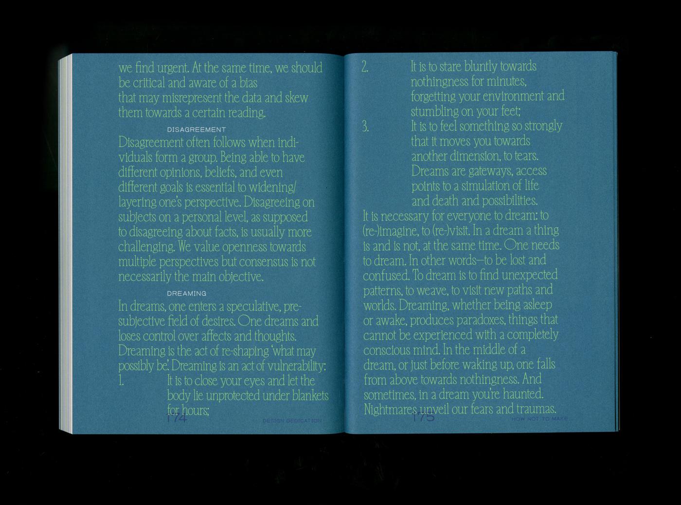 16 collide24 Tessa Meeus Alex Walker Design Dedication - Tessa Meeus and Alex Walker talk us through the creative process behind the book 'Design Dedication', edited by Annelys de Vet and published by Valiz
