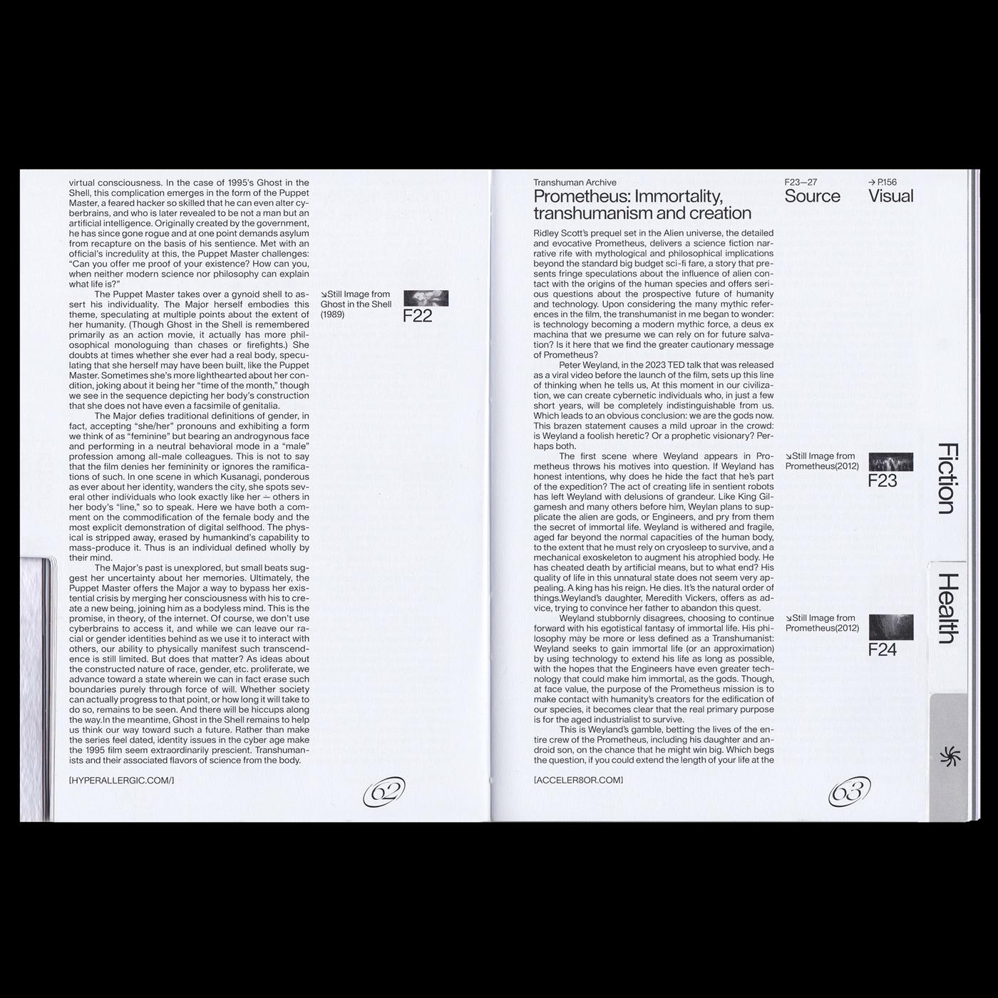 06 collide24 Transhuman Archive Stella Klump Leonie Krein Moritz Büsselberg - The book 'Transhuman Archive' by Stella Klump, Leonie Krein and Moritz Büsselberg explores the effects of transhumanism in our times