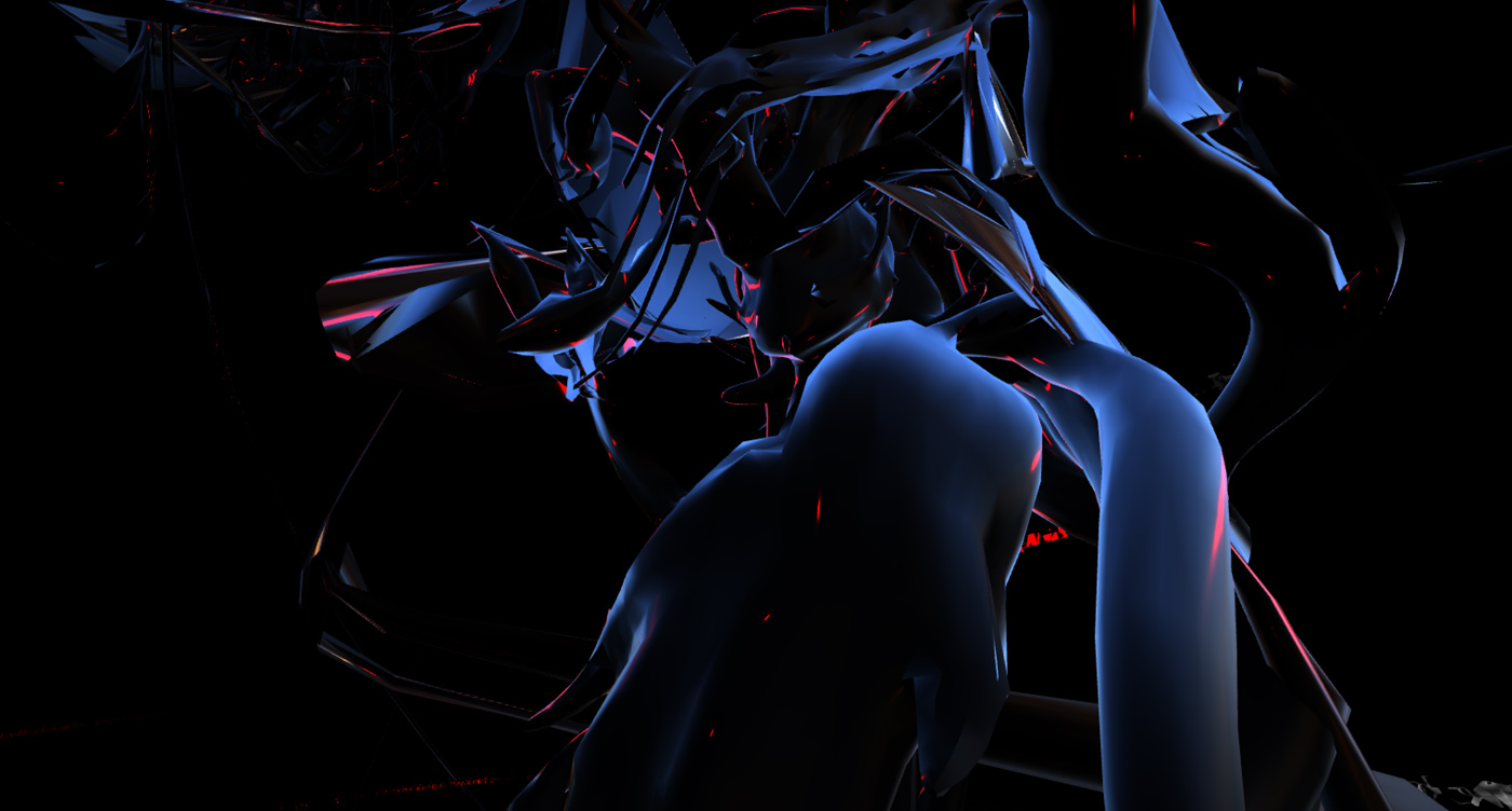 15 collide24 Output Field Skin Garden - Output Field presents Skin Garden, a virtual exhibition about bodies positioned against the current landscape of CG art