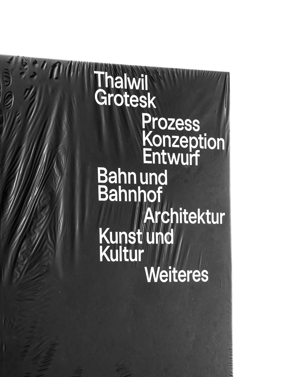 14 collide24 Raphael Jérôme Schmitt Fabio Furlani - Raphael Jérôme Schmitt and Fabio Furlani on 'Thalwil Grotesk', a typeface inspired by the old letterings on the signs at Swiss railway stations