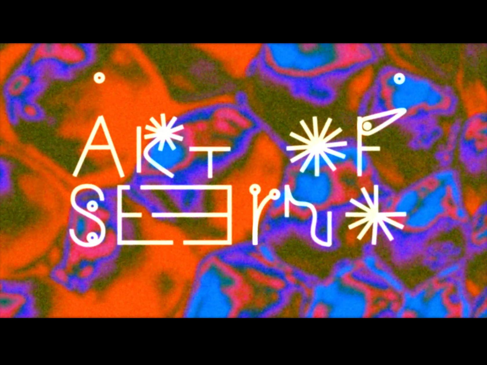 00 collide24 Lukas Keysell Carter Fools - 'Art of Seeing' by Carter Fools and Lukas Keysell takes you on an audio-visual journey for the eyes and mind to wander through